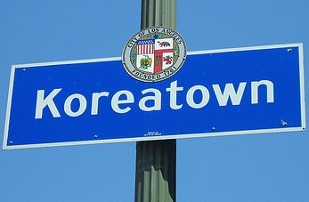 Koreatown Sign Cropped