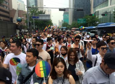 Seoul Pride Parade Protester: Homosexuality Origin Of AIDS, Gays Only Care About Sexual Pleasure